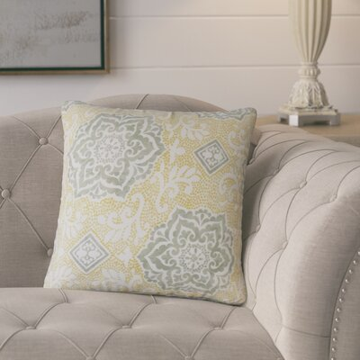 Marques Floral Cotton Throw Pillow