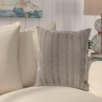 Gardiner 100% Cotton Pillow Cover Color: Medium Gray