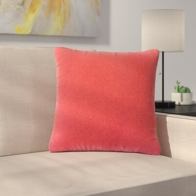 Bentz Solid Down Filled 100% Cotton Throw Pillow Size: 24 x 24