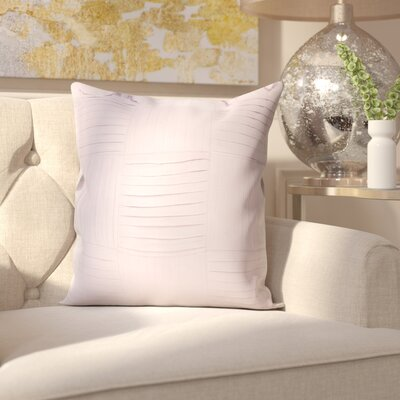 Holden 100% Cotton Throw Pillow Cover Size: 18 H x 18 W x 0.25 D, Color: Purple