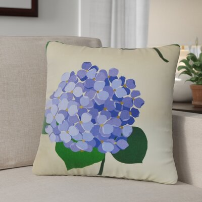 Levone Floral Cotton Throw Pillow
