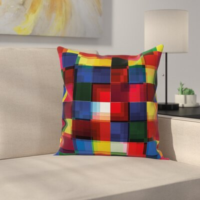 Stain Resistant Square Pillow Cover Size: 18 x 18