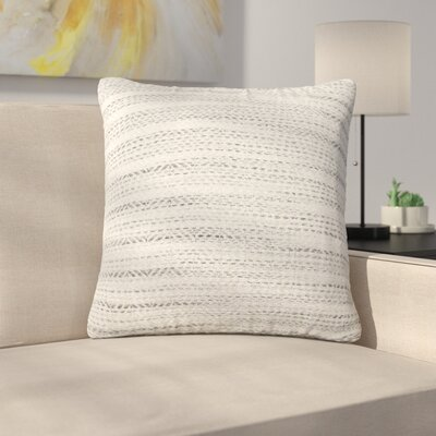 Tessier Throw Pillow Color: Gray