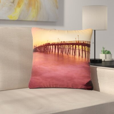 Juan Paolo Ocean Dreams Outdoor Throw Pillow Size: 16 H x 16 W x 5 D