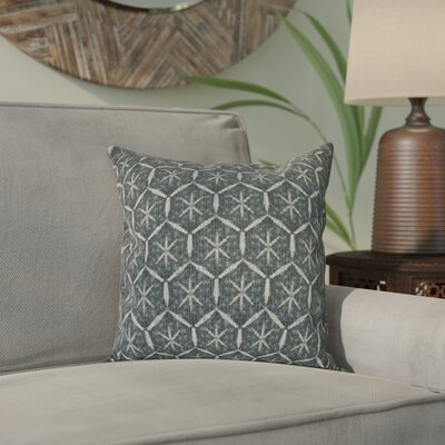 Arlo Tufted Geometric Throw Pillow Size: 16 H x 16 W, Color: Black