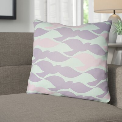 Danube Throw Pillow Size: 18 H x 18 W x 4 D, Color: Mint