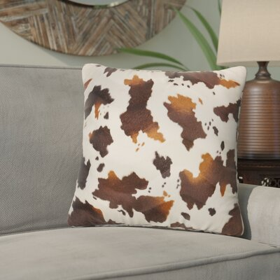 Mendell Zebroid 100% Cotton Throw Pillow