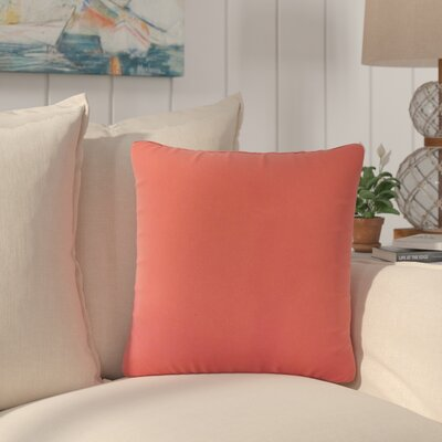 Carsten Solid Cotton Throw Pillow