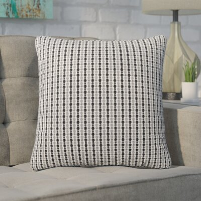 Tangerang Dot Throw Pillow Color: Light Blue/Gray