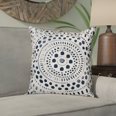 Nicci Mandala Throw Pillow Size: 16 x 16, Type: Pillow Cover