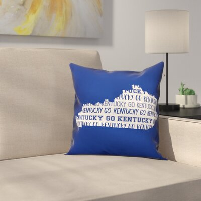 Kentucky Go Team Throw Pillow