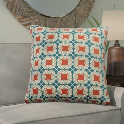 Slauson Indoor/Outdoor Throw Pillow Color: Americana