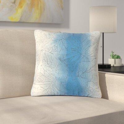 Greenbriar Stringham Floral Cotton Throw Pillow Color: Calypso
