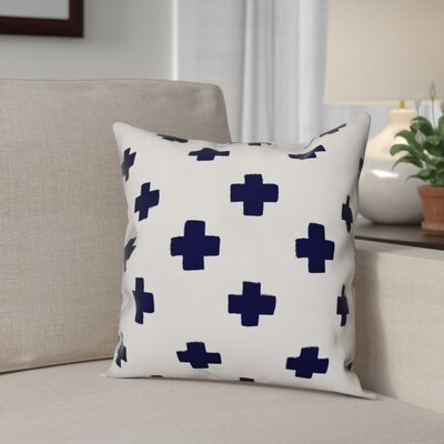 Norma Swiss Cross Throw Pillow Size: 16 x 16