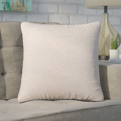Cottrill Square Throw Pillow Color: Taupe