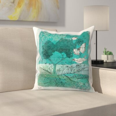 Paula Mills Wilderness Throw Pillow Size: 16 x 16