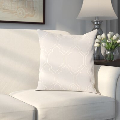 Aditya 100% Linen Throw Pillow Cover Size: 18 H x 18 W x 0.25 D, Color: GrayNeutral