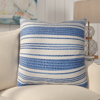 Ellicott Burlap Indoor/Outdoor Throw Pillow Size: 18 H x 18 W x 5 D