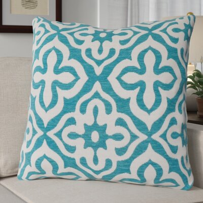 Silpa Throw Pillow Color: Teal