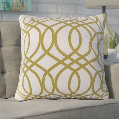 Blecha Throw Pillow Color: Lime