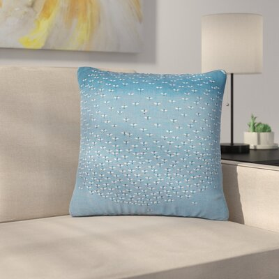 Laura Nicholson Being Here Outdoor Throw Pillow Size: 16 H x 16 W x 5 D