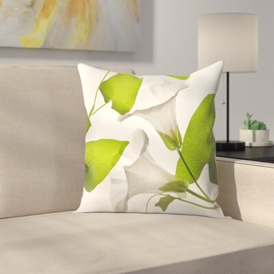 Maja Hrnjak Bell Flower1 Throw Pillow Size: 20 x 20