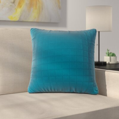 Bloomingdale Throw Pillow Color: Teal