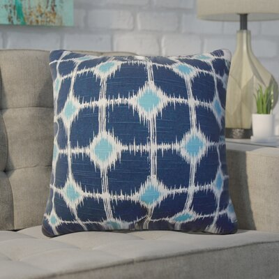Xander Geometric Cotton Throw Pillow