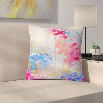 Ebi Emporium Whispered Song 1 Outdoor Throw Pillow Size: 16 H x 16 W x 5 D
