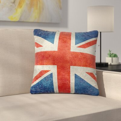 Bruce Stanfield UK Union Jack Flag Outdoor Throw Pillow Size: 18 H x 18 W x 5 D
