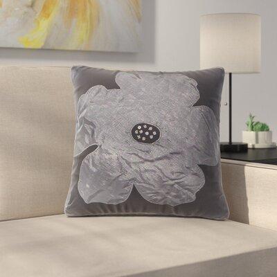 Bridgeport Cotton Throw Pillow Color: Charcoal