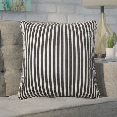 Witmer Stripes Cotton Throw Pillow