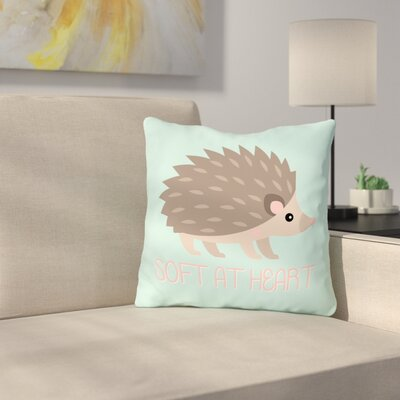Spearman Soft At Heart Throw Pillow Size: 16 x 16