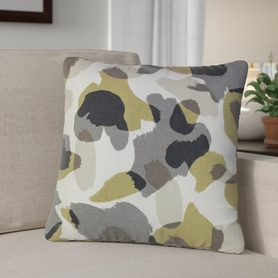 Camelia Down Filled 100% Cotton Throw Pillow Size: 22 x 22, Color: Dew