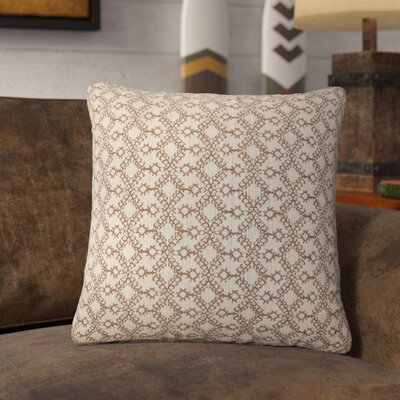Dreier Ikat Throw Pillow Color: Brown