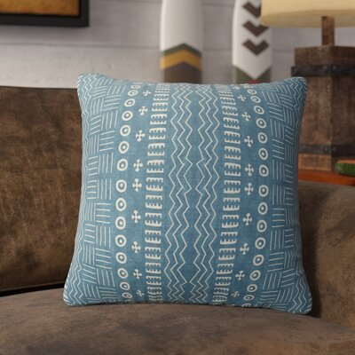 Couturier Geometric Throw Pillow Color: Teal, Size: 24 H x 24 W
