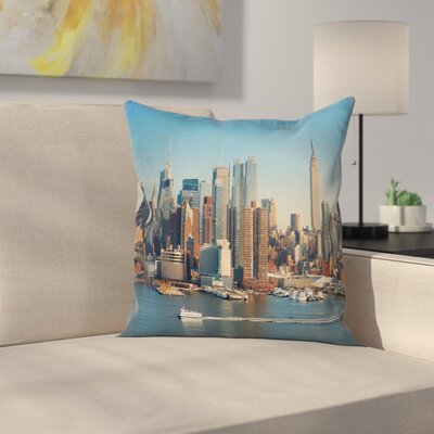 Riverside Pillow Cover Size: 24 x 24