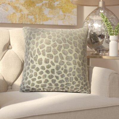 Romina Geometric Throw Pillow Color: Pewter