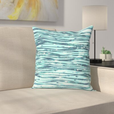 Slipstream Throw Pillow Size: 18 x 18
