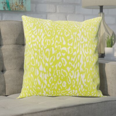Eustachys Indoor/Outdoor Throw Pillow Color: Green