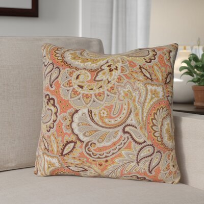 Wilfong Throw Pillow Color: Redwood