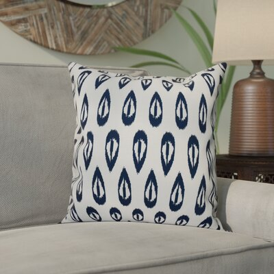 Bridgehampton Outdoor Throw Pillow Size: 18 H x 18 W, Color: Navy Blue