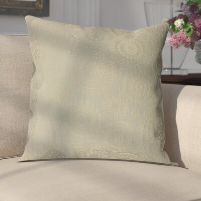 Sander Bohemian Woven Decorative Pillow Cover Color: Stone