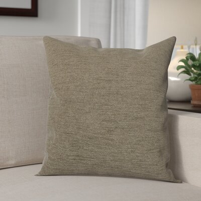 Danin Modern Outdoor Throw Pillow Color: Patina, Size: Small