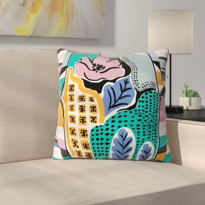Gabriela Fuente Throw Pillow Size: 18 x 18