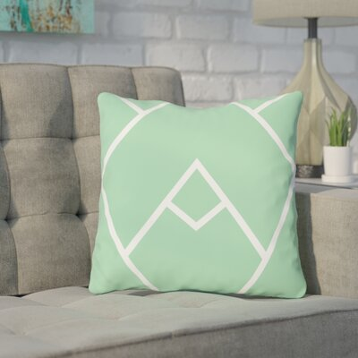 Leonila Indoor/Outdoor Throw Pillow Color: Honey Dew, Size: 18 H x 18 W x 3 D