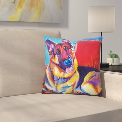 Zeke Throw Pillow