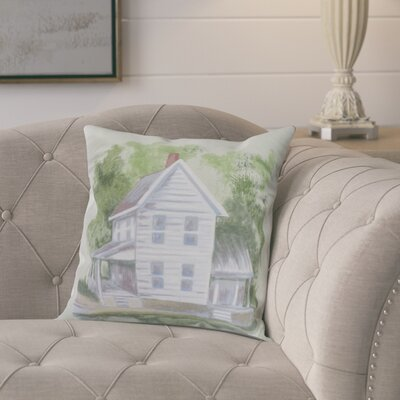 Chavira Throw Pillow Color: Green, Size: 26 x 26