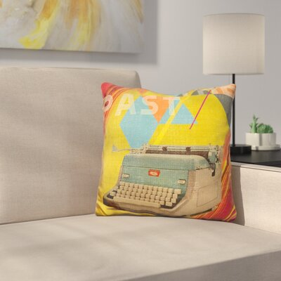 Text From The Past Throw Pillow