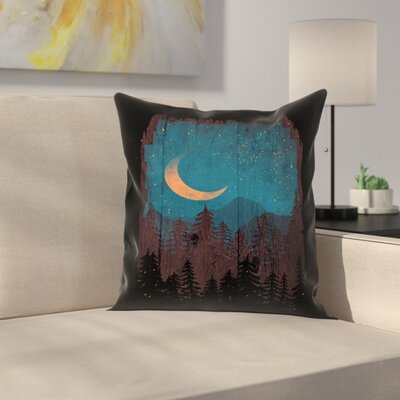 Those Summer Nights Throw Pillow Size: 16 x 16